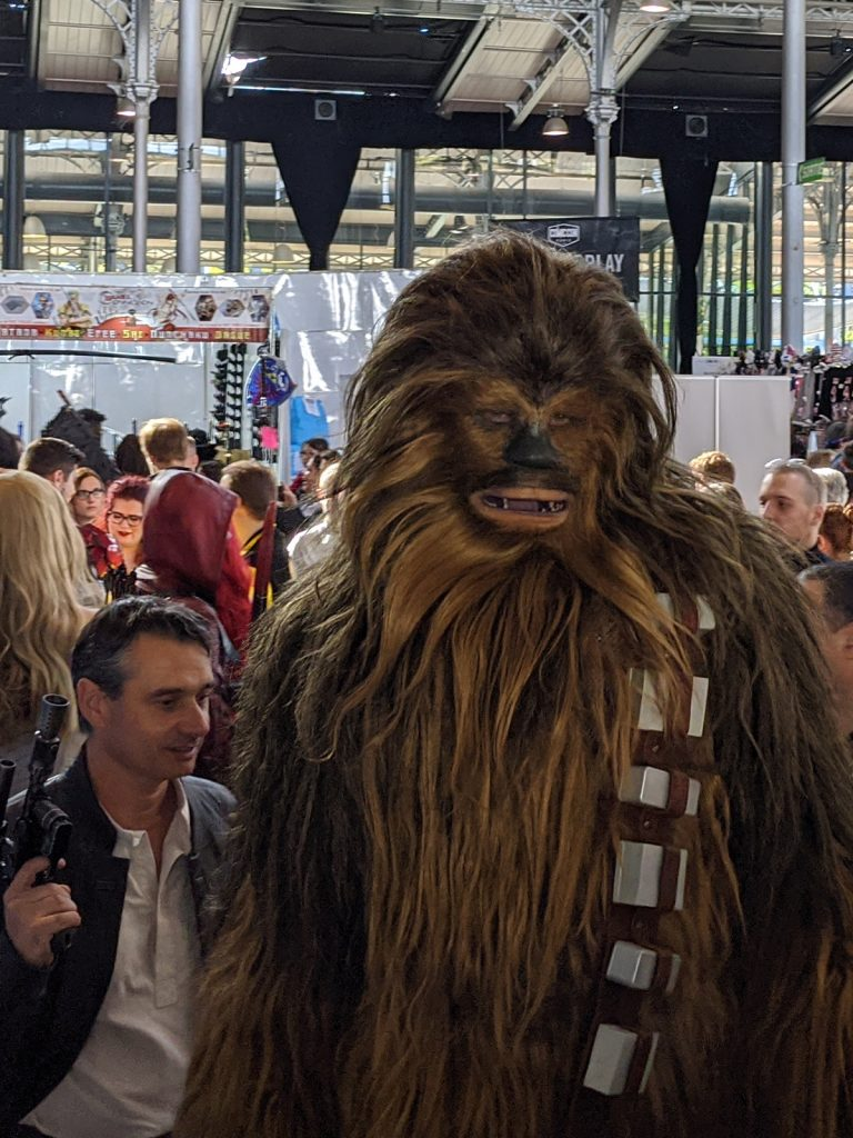 Cosplay Chewbacca Han Solo Comic Con Paris 2019