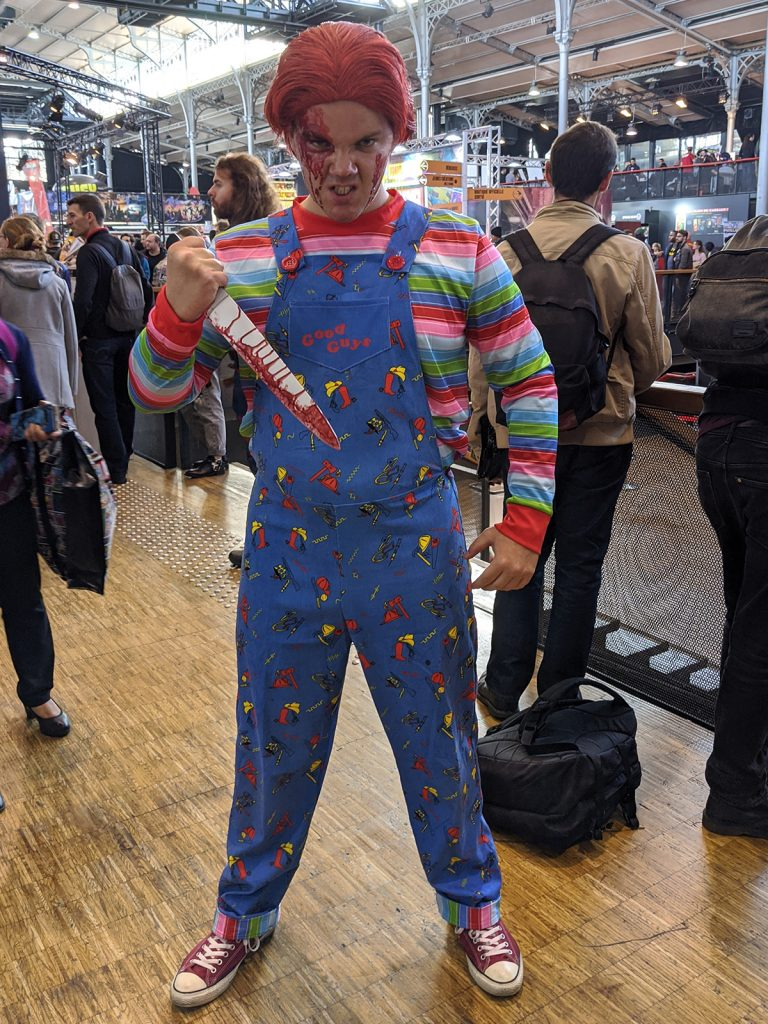 Cosplay Chucky Comic Con Paris 2019