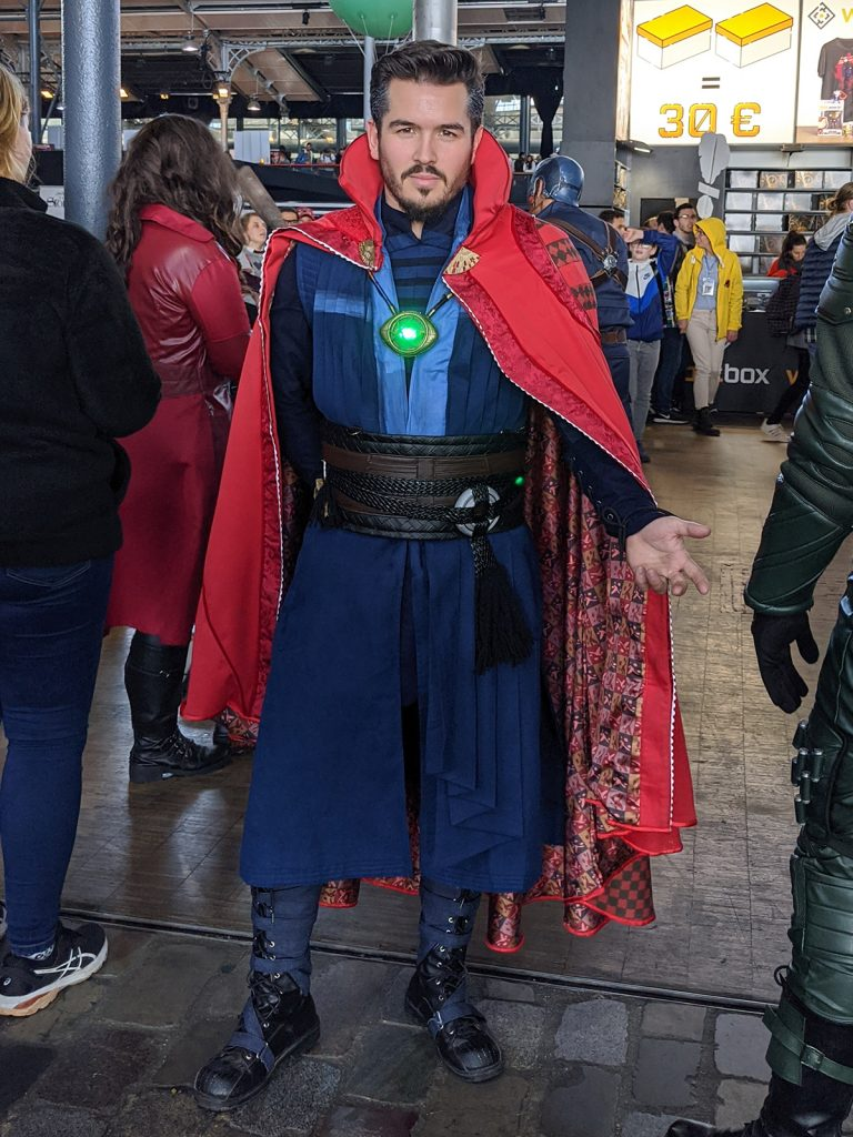 Cosplay Doctor Strange Comic Con Paris 2019