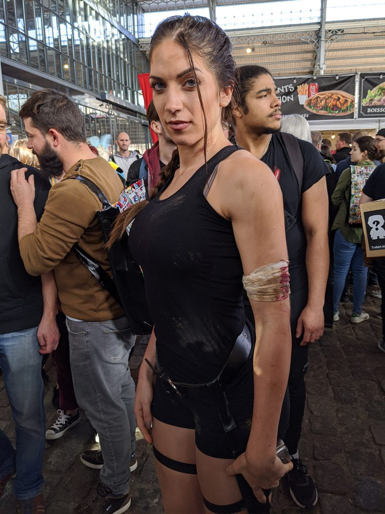 Cosplay Lara Croft Comic Con Paris 2019