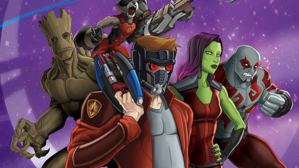 Les Gardiens de la Galaxie Serie Animee