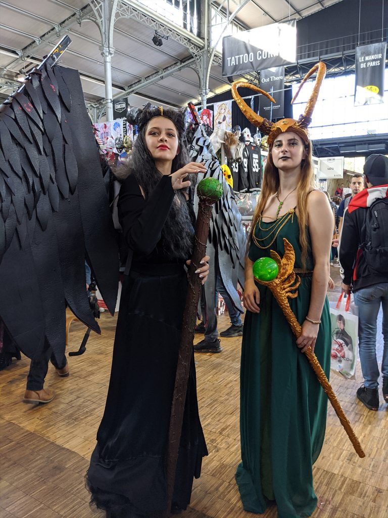 Cosplay Malefique Loki Femme Comic Con Paris 2019