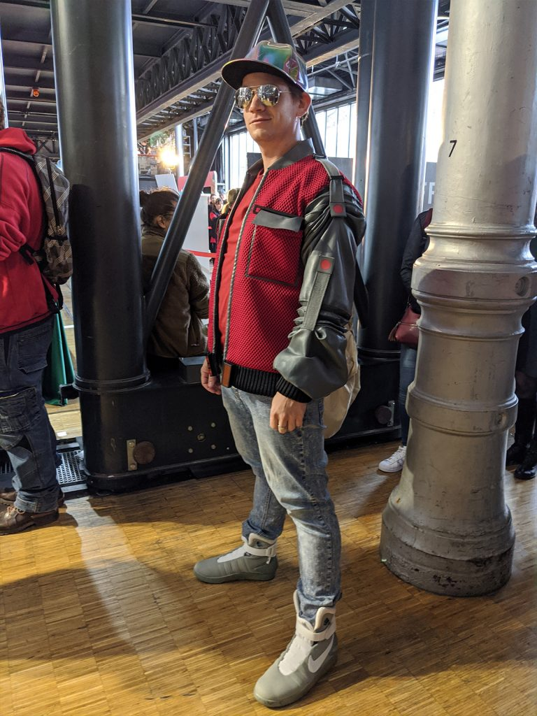 Cosplay Marty McFly Comic Con Paris 2019