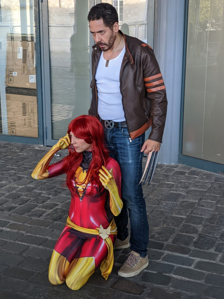 Cosplay Phoenix Wolverine Comic Con Paris 2019