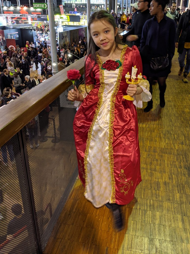 Cosplay Princesse Belle Comic Con Paris 2019
