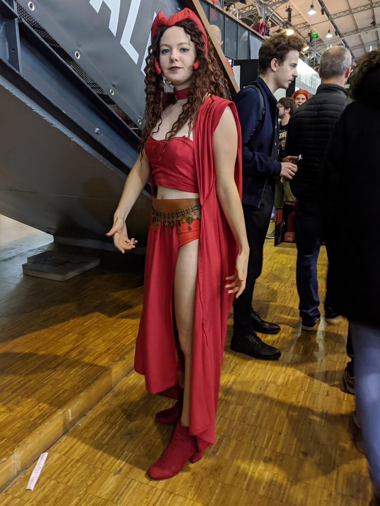 Cosplay Scarlet Witch Comic Con Paris 2019