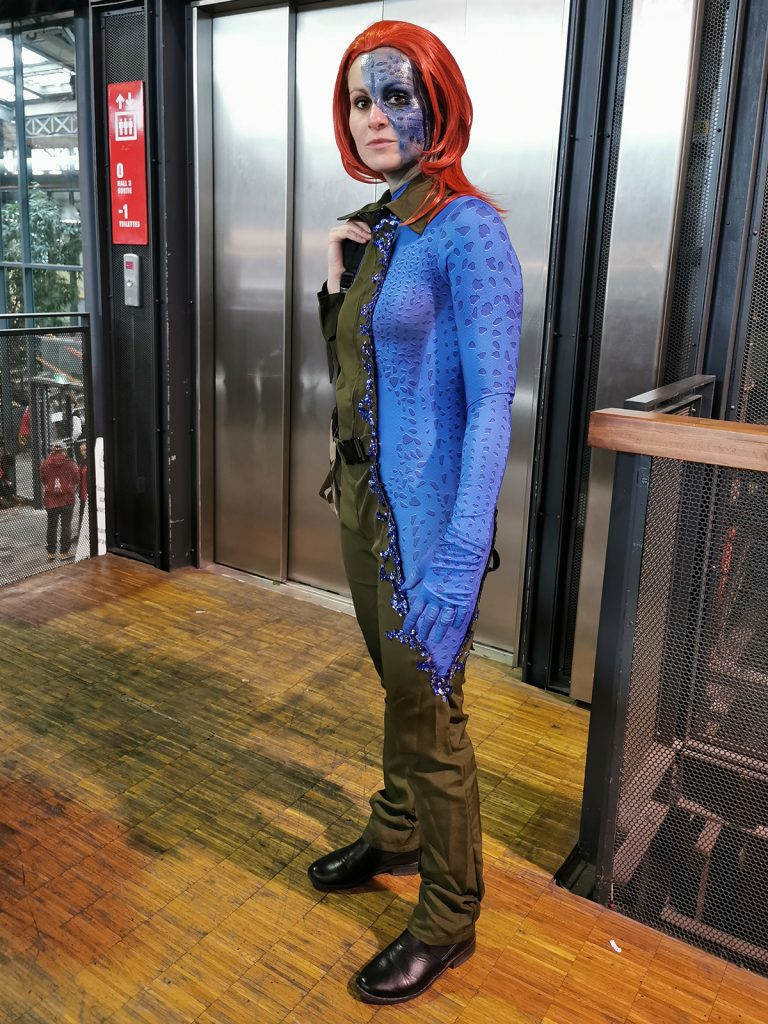 Cosplay Mystique Comic Con Paris 2019