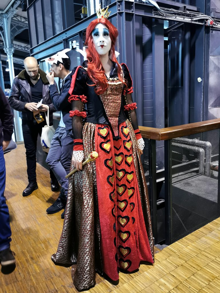 Cosplay Reine de Coeur Comic Con Paris 2019