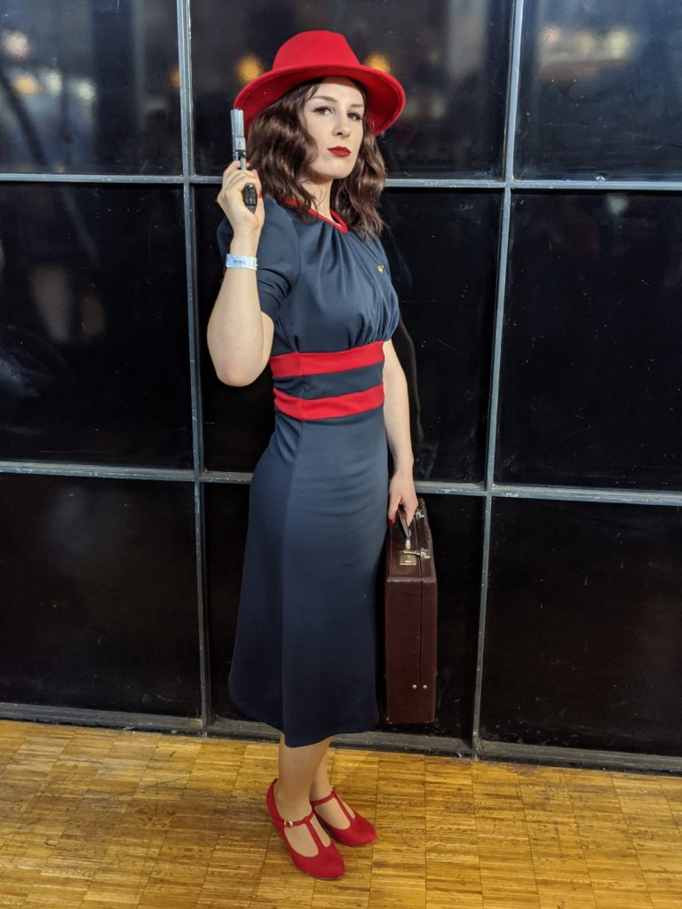 Cosplay Agent Carter Comic Con Paris 2019