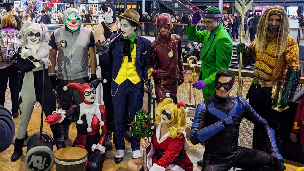 Cosplay DC Comics Comic Con Paris 2019