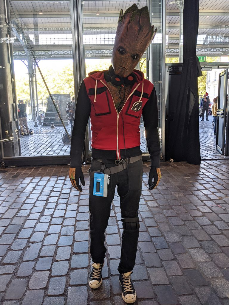 Cosplay Groot Comic Con Paris 2019
